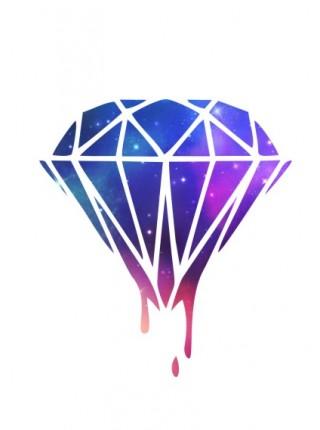 Космический алмаз
