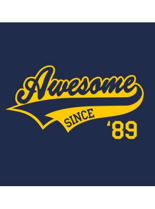 Аwesome ( ваш год рождения)